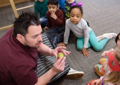 nursery talking food