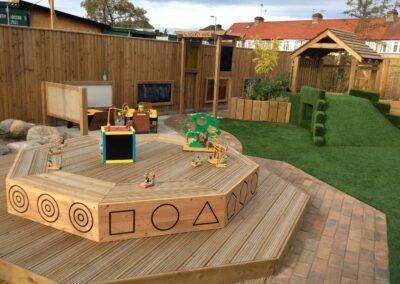 nursery back garden